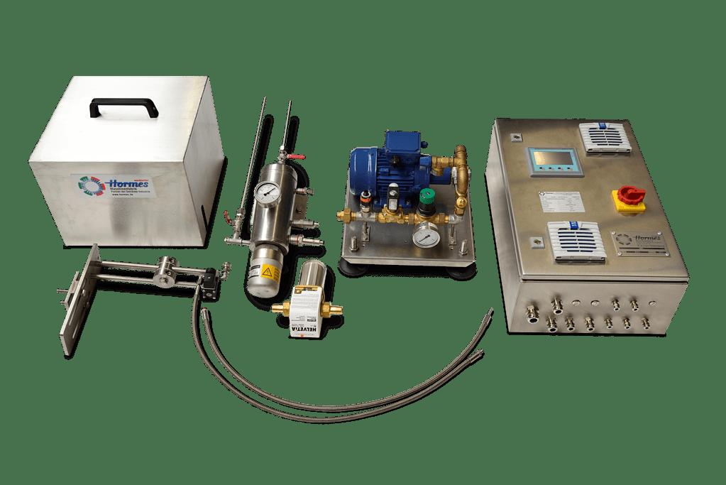 Prozesstechnik - Hochdruckerhitzung